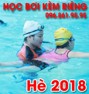 Học bơi kèm riêng - Hè 2018